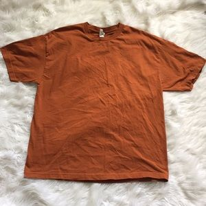 Other - Rust color solid t-shirt